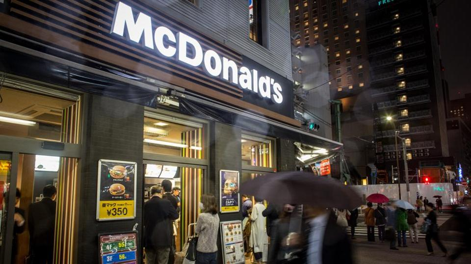 China accounts for nine percent of all McDonald's restaurants but only about four to five percent of its sales and three percent of its income, McDonald's CEO Chris Kempczinski  said.