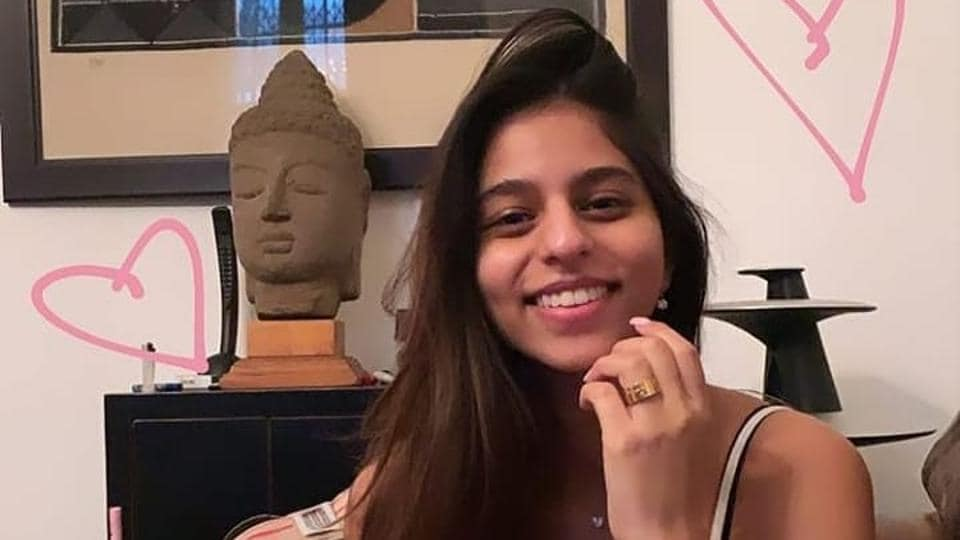 Suhana has an interesting sense of style, which is very much like her father's, casual but super stylish.