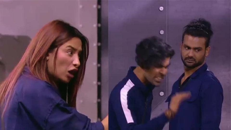 Bigg Boss 13: Mahira Sharma will be seen fighting with Vishal Aditya Singh's brother Kunal in the upcoming episode.