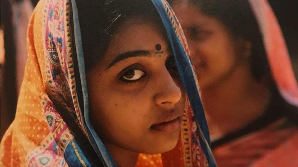 Radhika Apte shared a picture from the sets of her Marathi film Gho Mala Asla Hava.