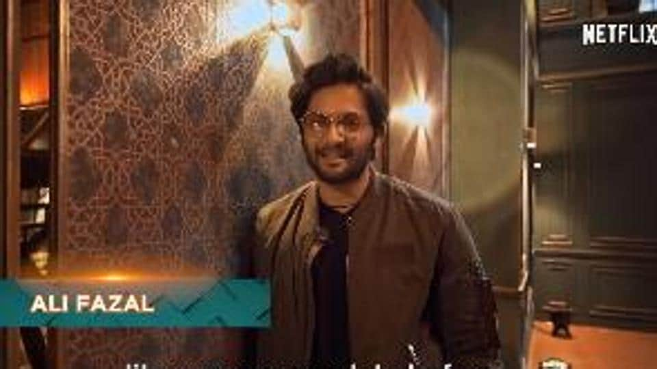 Ali Fazal in a still from the teaser of What The Love.