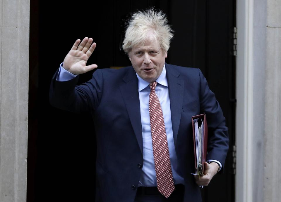 U.K. Prime Minister Boris Johnson is to meet in the morning with his Cabinet in the pro-Brexit town of Sunderland, in northeast England
