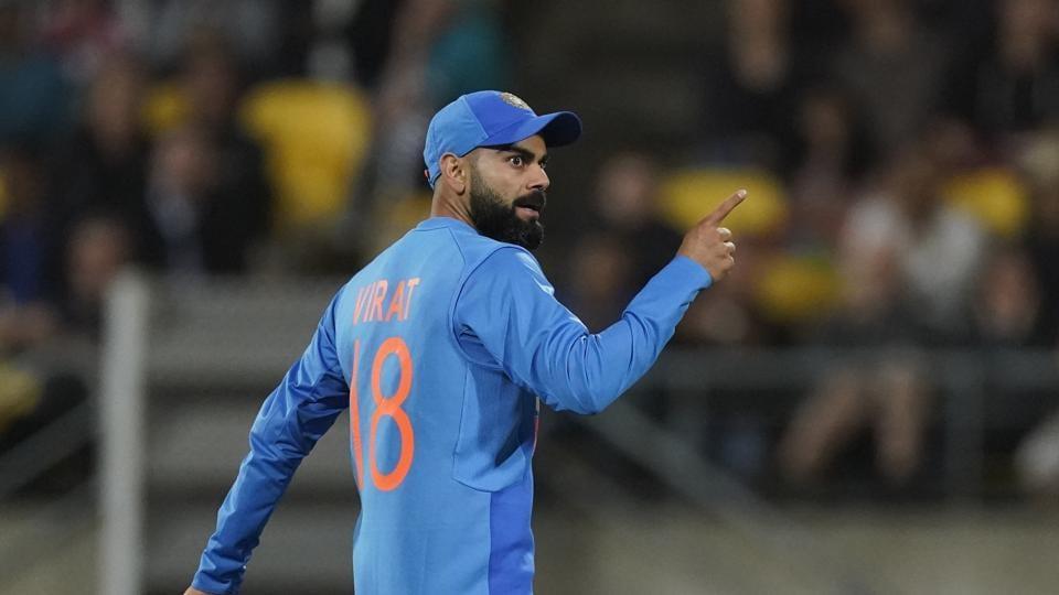 Virat Kolhi after India's Super Over win against New Zealand