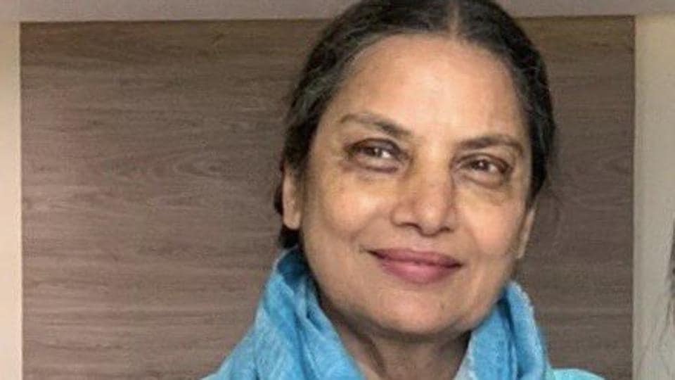 Shabana Azmi posted this picture of herself on Twitter, confirming her return.