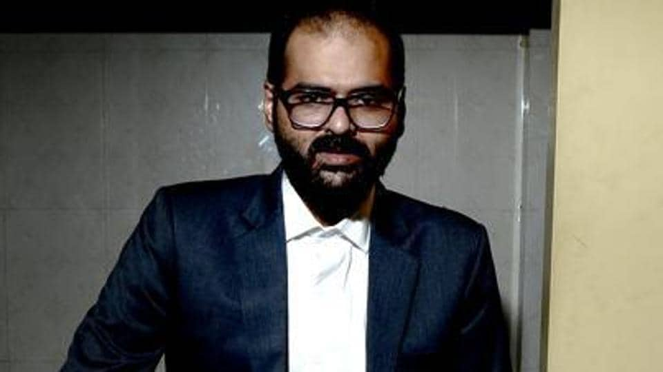 File photo of comedian Kunal Kamra. (Photographed by Abhijit Bhatlekar/Mint)