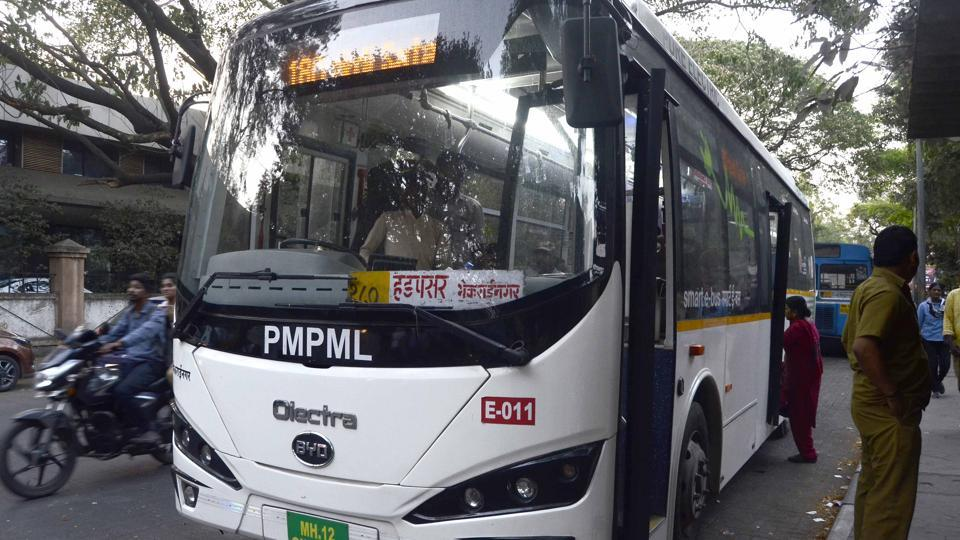 150 e-buses were added to PMPML fleet.