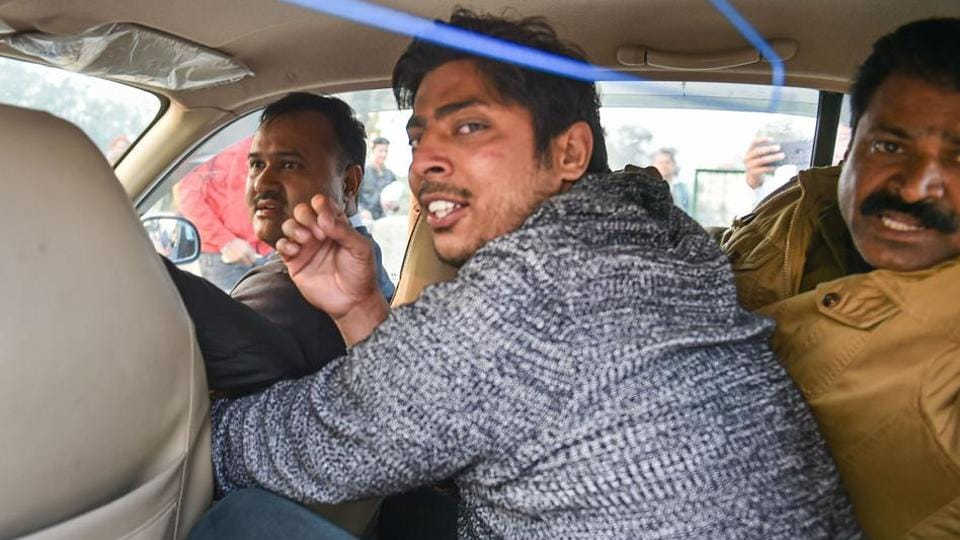 A 23-year-old man from Delhi on Saturday fired two rounds in the air at the Shaheen Bagh protest site.
