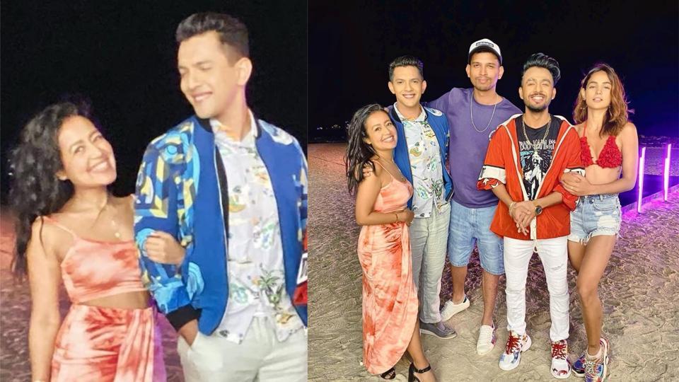 Neha Kakkar, Aditya Narayan recorded a music video in Goa.