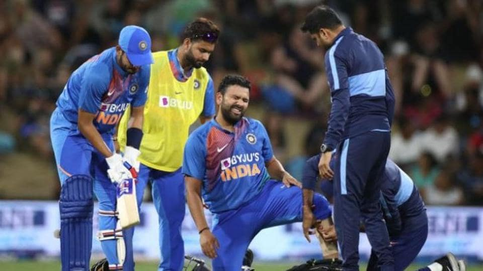 Image result for rohit sharma injury""