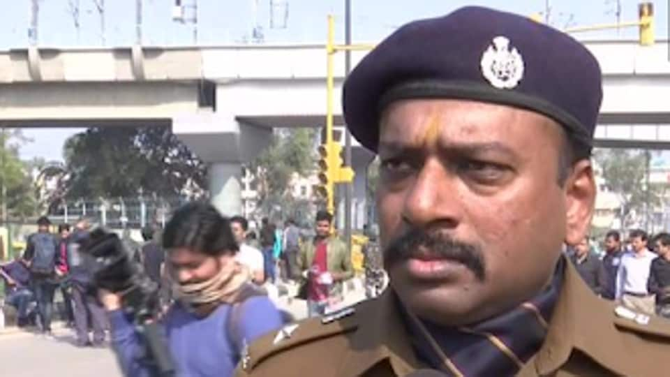 The Election Commission on Sunday removed south-east Delhi deputy commissioner of police (DCP) Chinmoy Biswal from his post