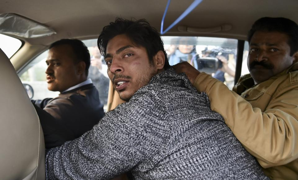 The person who opened fire outside the Shaheen Bagh protest venue, New Delhi, February 1. The State is tasked with the duty of maintaining law and order and preventing violence, while safeguarding democratic rights. In this case, it is clearly the responsibility of the Delhi Police — which reports directly to the ministry of home affairs — to ensure that no violence occurs