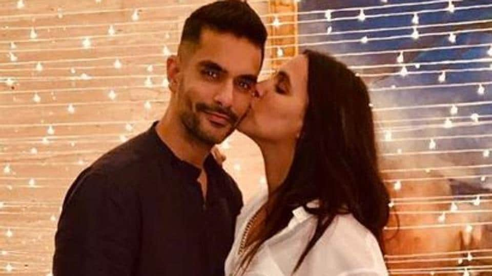 Happy Birthday Angad Bedi: Intimate family pictures of the actor with wife Neha Dhupia, daughter Me...