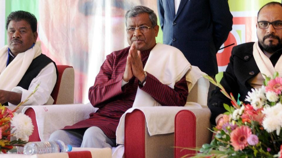 Jharkhand's well-known tribal face and state's first chief minister Babulal Marandi had left the BJPin 2006 to form his own party.