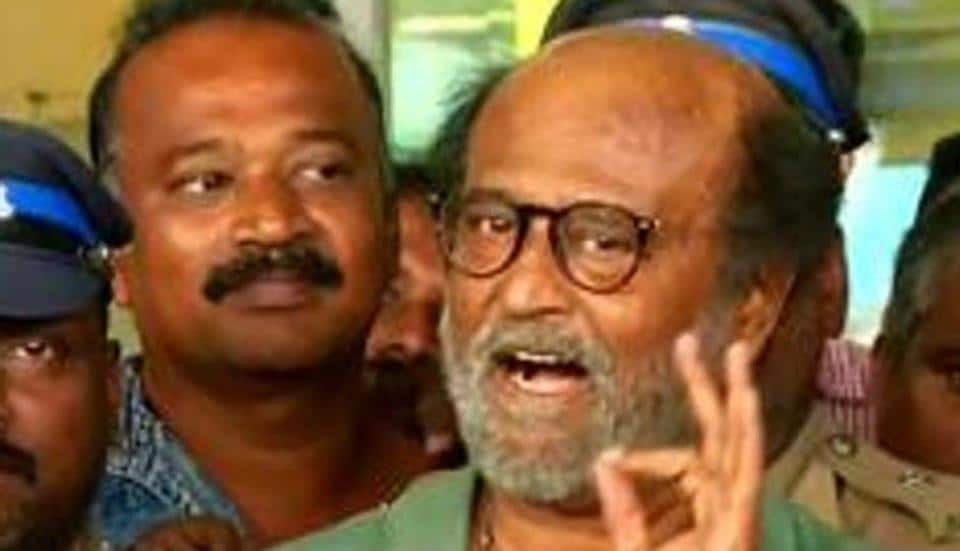 Rajinikanth has been summoned by the judicial commission probing the police firing on anti-Sterlite protesters in Tamil Nadu's Thoothukudi  (ANI Photo)