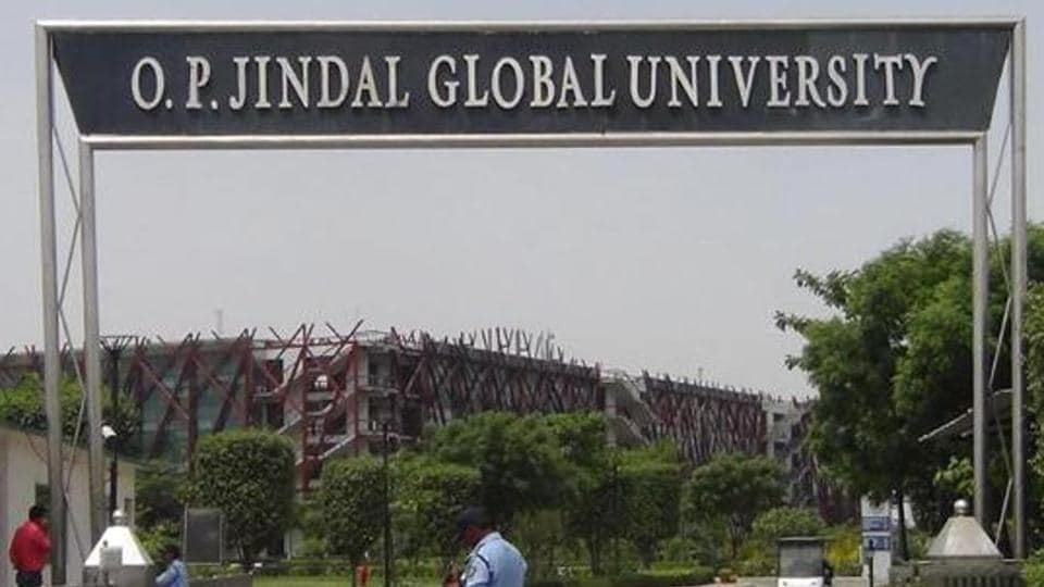 OP Jindal Global University, Sonipat. (Handout )