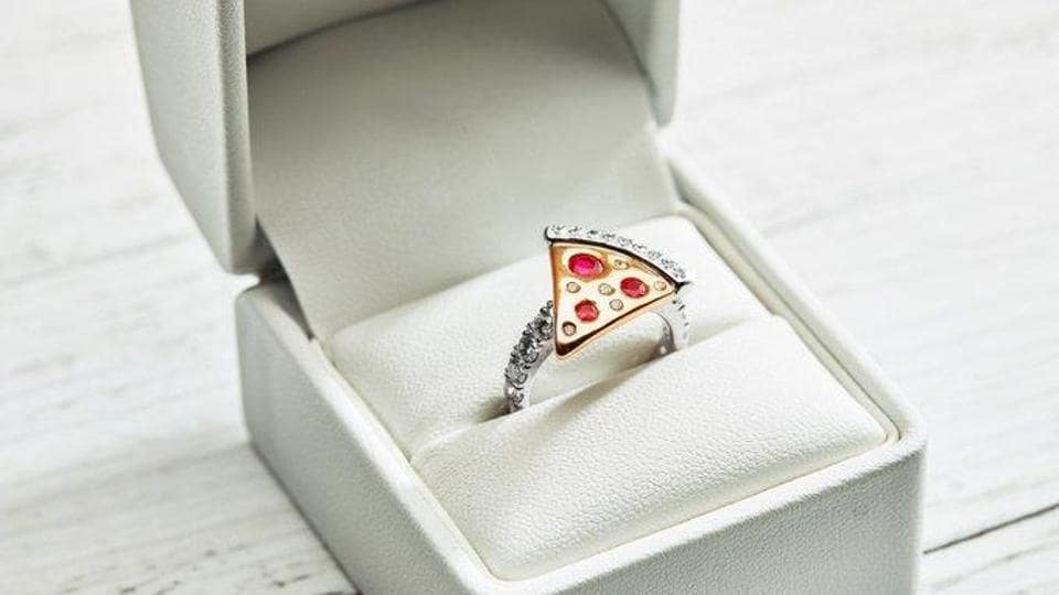 For Valentine S Day Domino S Has A 9 000 Pizza Engagement Ring World News Hindustan Times