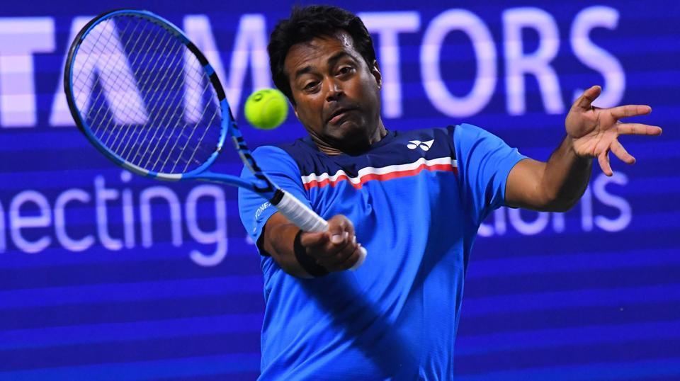 Indian tennis great Leander Paes