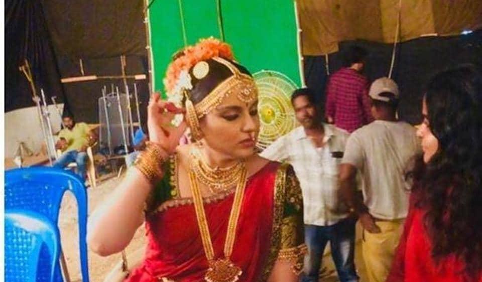 Kangana Ranaut plays Jayalalithaa in Thalaivi.