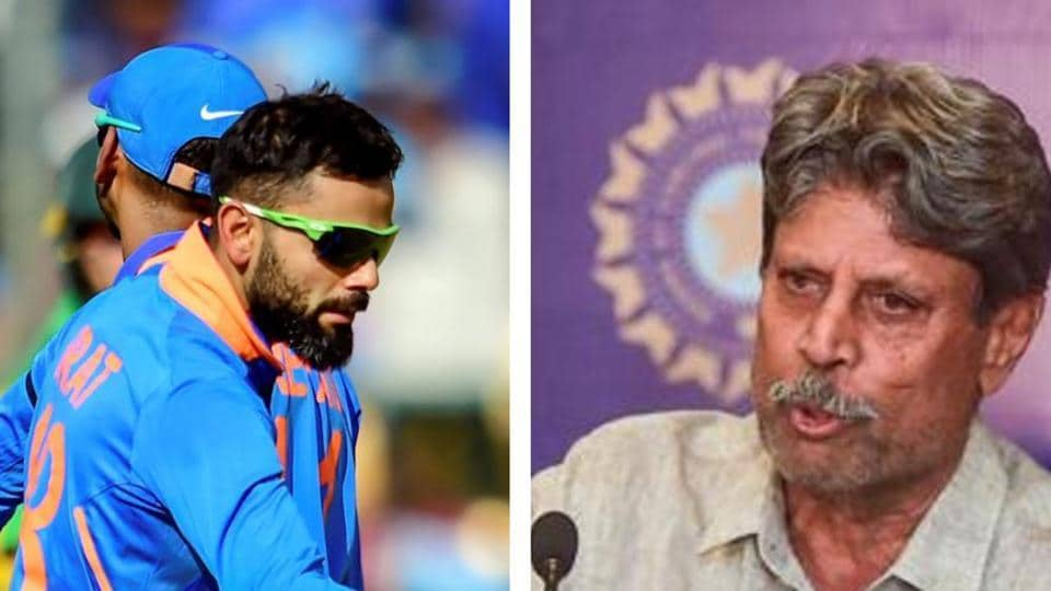 Kapil Dev has an advice for Virat Kohli.
