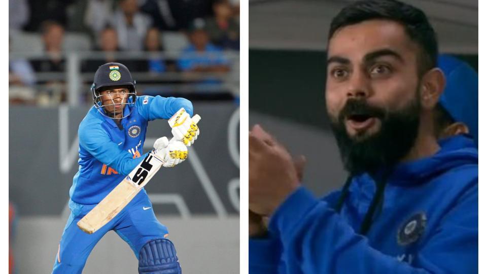 Navdeep Saini impressed Virat Kohli with the bat.