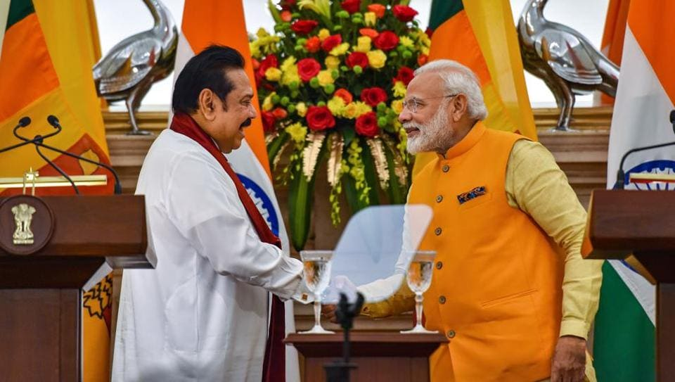 Rajapaksa by his side, PM Modi delivers message on Tamils in Sri Lanka