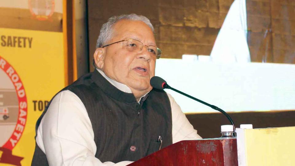 Rajasthan Governor Kalraj Mishra.(HT file)