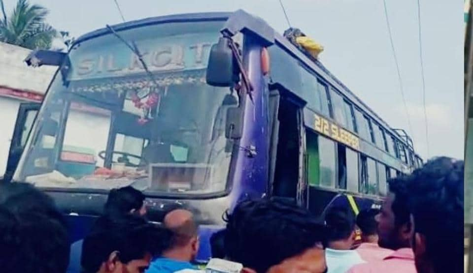 A police official said locals rushed to rescue the injured. Five ambulances and fire tenders also reached the spot to carry out rescue operations.