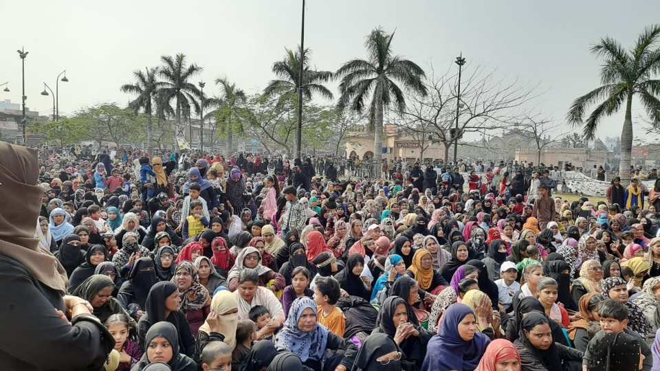 On Sunday, several women, mostly Muslim, reached Clock Tower and were addressed by several activists, including some from outfits of New Delhi.