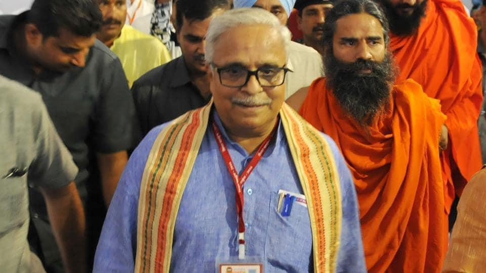 Suresh Bhaiyyaji Joshi is in Goa to speak at a two-day conclave on 'Vishwaguru Bharat