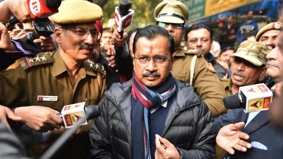The exit polls predicted chief minister Arvind Kejriwal-led AAP is expected to win anything between 47 seats to 68 seats in the assembly of 70 members
