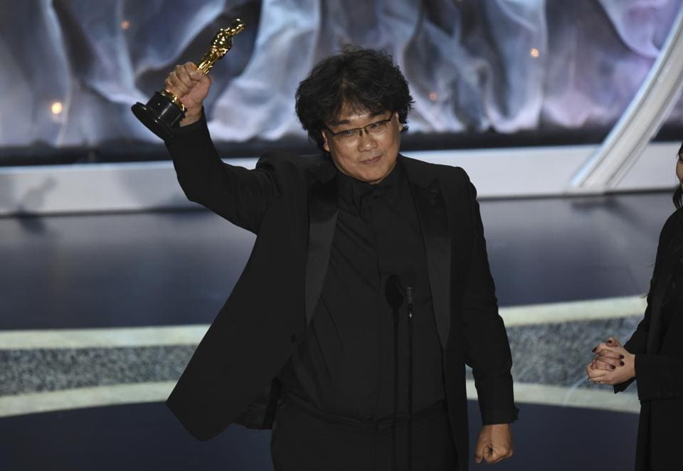 The South Korean film, Parasite, became the first foreign language film to win Best Picture for its dark drama
