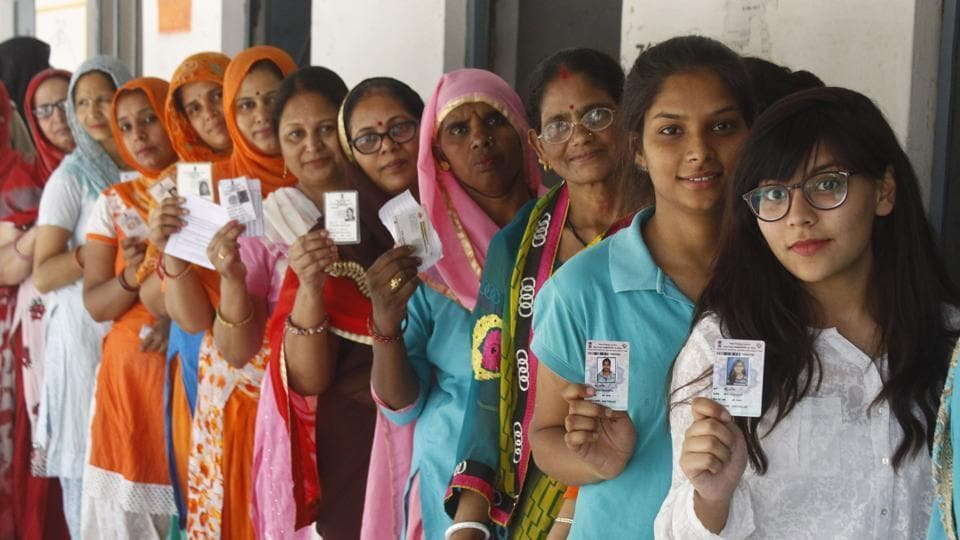 People standing in line to cast vote (representational image).