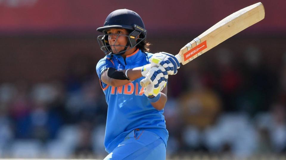 India Women's captain Harmanpreet Kaur.
