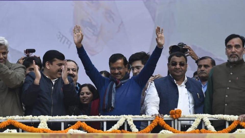 Delhi election result: 'I love you', Arvind Kejriwal to Delhi after mega win