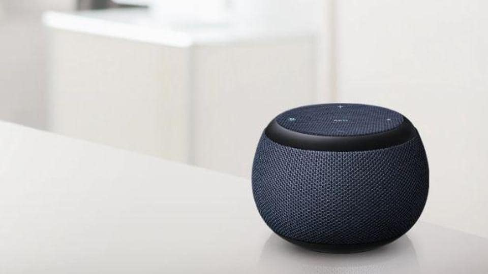 Galaxy Home Mini is Samsung's second smart speaker.