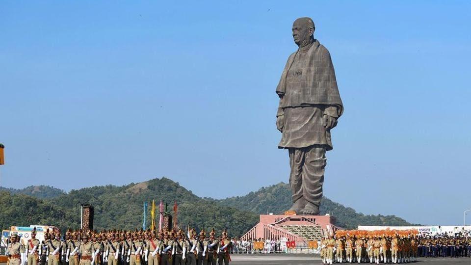 'Statue of Unity' in Gujarat's Kevadia