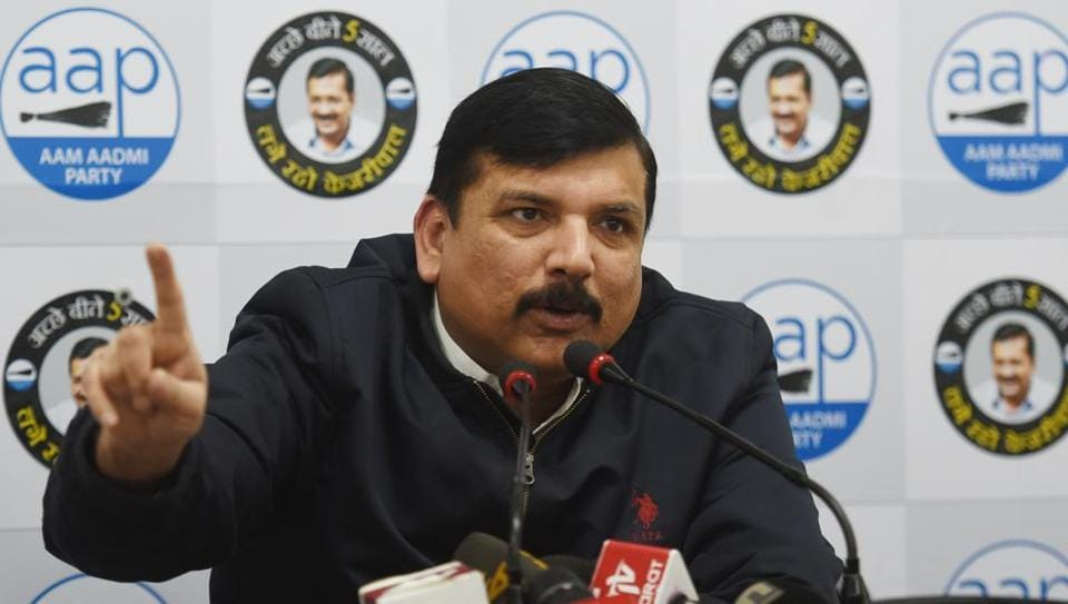 """AAP leader Sanjay Singh on Tuesday said his party will register a """"massive win"""" in the high-stakes Delhi Assembly election"""