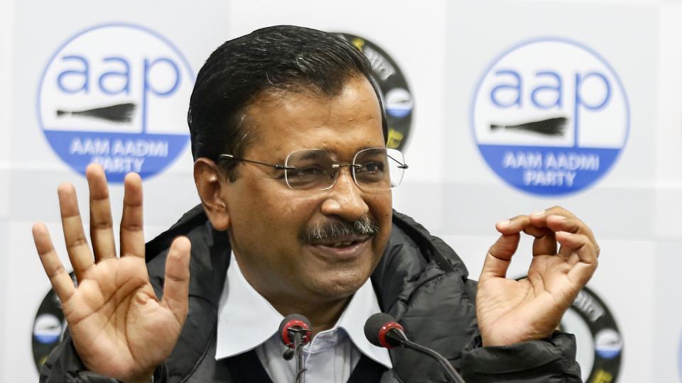 Image result for delhi vote result 2020 arvind kejri