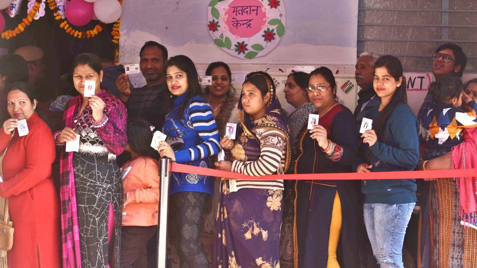 Poll Counting for Rajinder Nagar will take place on February 11.