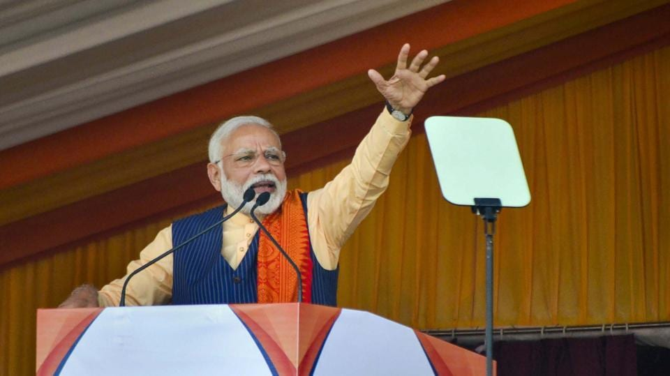 Prime Minister Narendra Modi had addressed two election rallies during the campaign for the Delhi assembly polls.