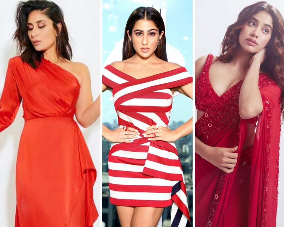 Take cue from these celebrities on how to wear the colour this V-Day.