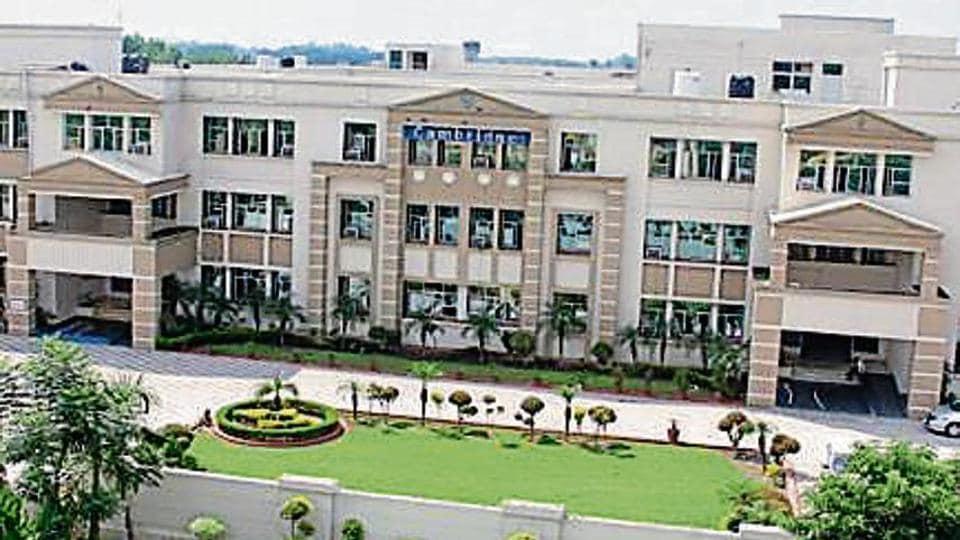 Cambridge International School, Dasuya, Hoshiarpur. (HT)