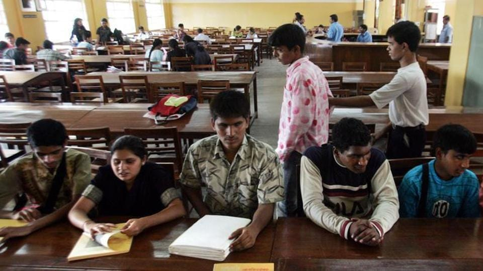 The students appeared happy taking board examinations. (Representational image)