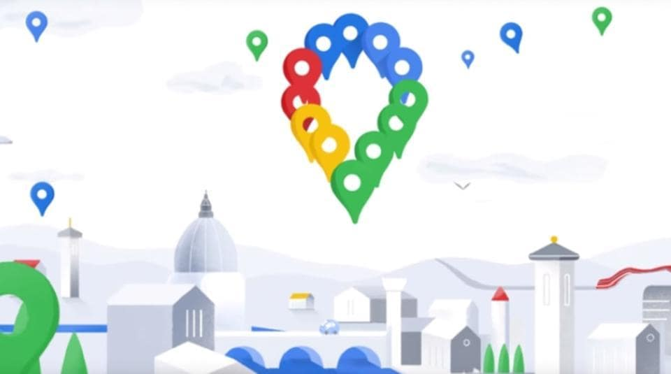 Google Maps recently updated its logo.