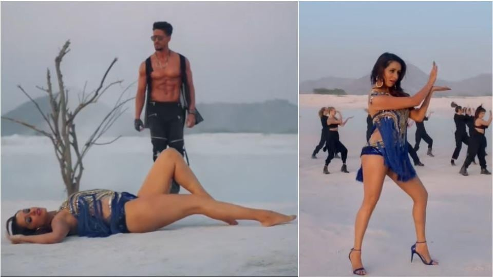 Tiger Shroff and Shraddha Kapoor in Dus Bahane 2.0 from Baaghi 3.