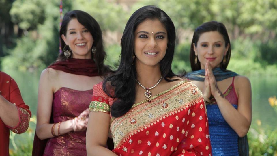 Kajol played Shah Rukh Khan's wife in My Name Is Khan.