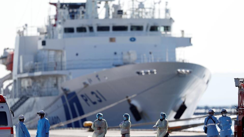 With 174 confirmed cases, the ship that arrived with over 3,700 passengers and crew has become the largest single cluster of the newly named COVID-19 virus outside its origin in China, where it has killed more than 1,100.