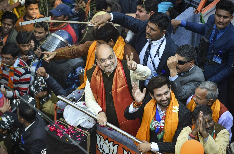 Union Home Minister and BJP leader Amit Shah
