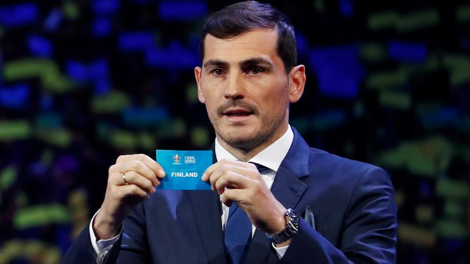 Afile photo of Iker Casillas.