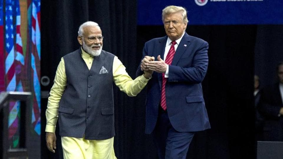 Trump said that he spoke to Modi over the weekend and during the conversation, the prime minister told him that millions and millions of people would welcome him from the airport to the cricket stadium.